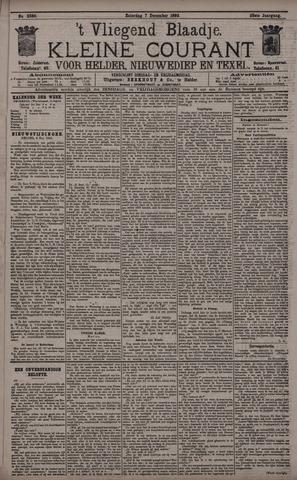 Vliegend blaadje : nieuws- en advertentiebode voor Den Helder 1895-12-07