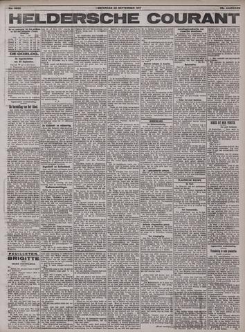 Heldersche Courant 1917-09-22