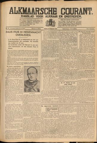 Alkmaarsche Courant 1939-02-10