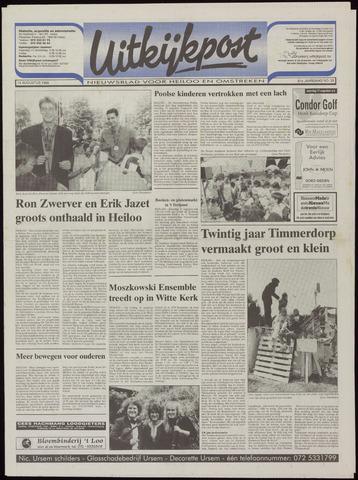 Uitkijkpost : nieuwsblad voor Heiloo e.o. 1996-08-14