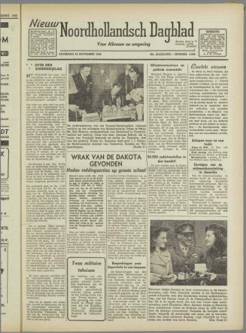 Nieuw Noordhollandsch Dagblad : voor Alkmaar en omgeving 1946-11-23