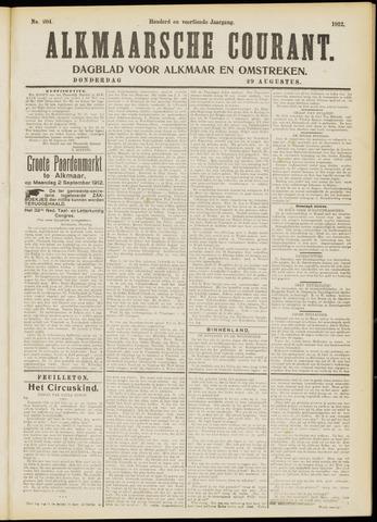 Alkmaarsche Courant 1912-08-29