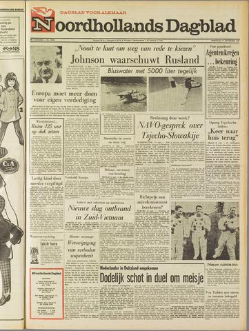 Noordhollands Dagblad : dagblad voor Alkmaar en omgeving 1968-09-11