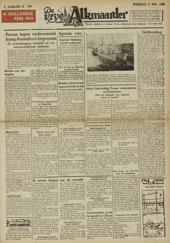 De Vrije Alkmaarder 1948-11-17