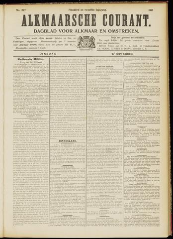 Alkmaarsche Courant 1910-09-27