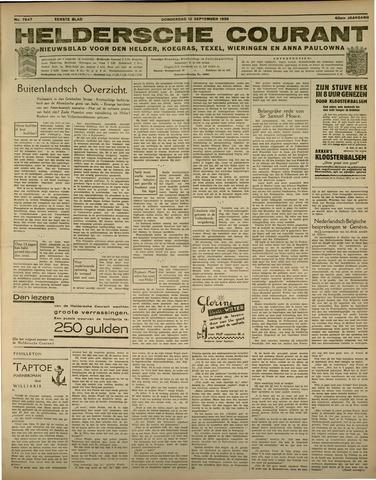 Heldersche Courant 1935-09-12