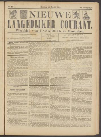 Nieuwe Langedijker Courant 1899-04-16