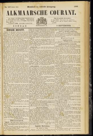 Alkmaarsche Courant 1900-09-09