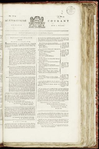 Alkmaarsche Courant 1819-03-01