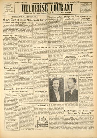 Heldersche Courant 1950-06-21