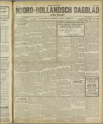 Ons Blad : katholiek nieuwsblad voor N-H 1922-09-08