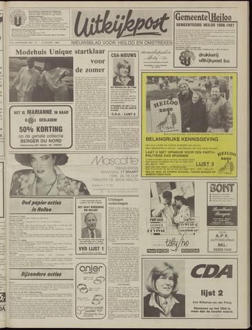 Uitkijkpost : nieuwsblad voor Heiloo e.o. 1986-03-12
