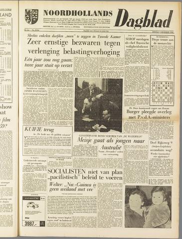 Noordhollands Dagblad : dagblad voor Alkmaar en omgeving 1958-12-09