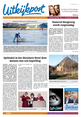 Uitkijkpost : nieuwsblad voor Heiloo e.o. 2017-01-25