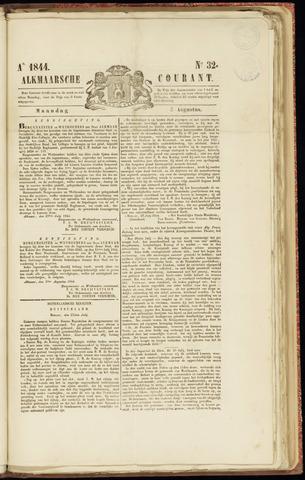 Alkmaarsche Courant 1844-08-05