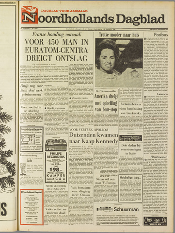 Noordhollands Dagblad : dagblad voor Alkmaar en omgeving 1968-12-20