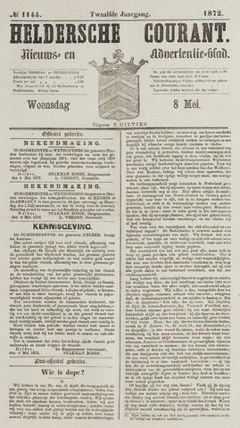 Heldersche Courant 1872-05-08