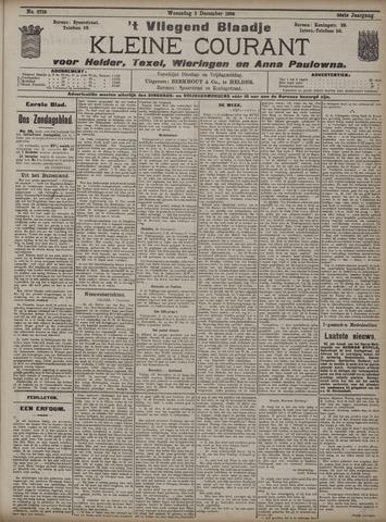 Vliegend blaadje : nieuws- en advertentiebode voor Den Helder 1908-12-02