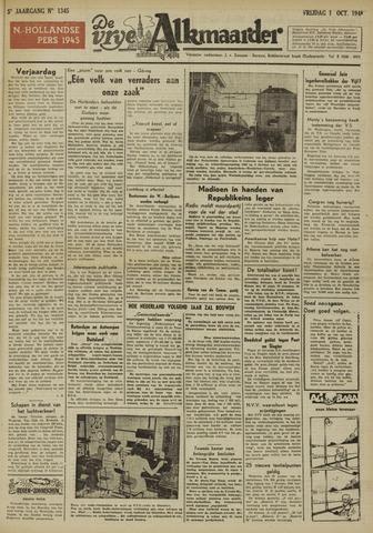 De Vrije Alkmaarder 1948-10-01