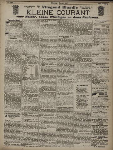 Vliegend blaadje : nieuws- en advertentiebode voor Den Helder 1907-01-01