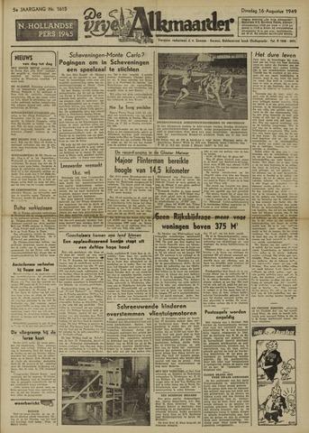 De Vrije Alkmaarder 1949-08-16