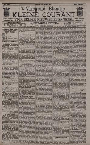 Vliegend blaadje : nieuws- en advertentiebode voor Den Helder 1896-01-25
