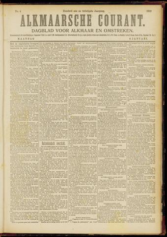 Alkmaarsche Courant 1919-01-06