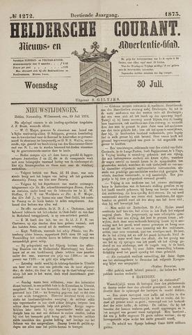 Heldersche Courant 1873-07-30