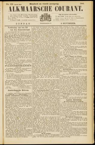 Alkmaarsche Courant 1902-11-09