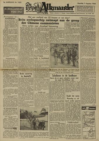 De Vrije Alkmaarder 1949-08-01
