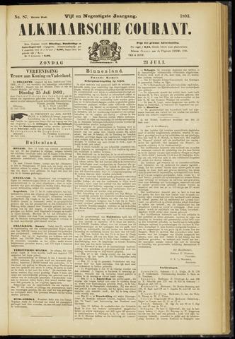 Alkmaarsche Courant 1893-07-23
