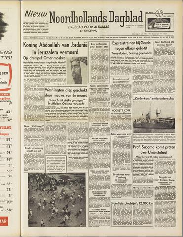 Nieuw Noordhollandsch Dagblad : voor Alkmaar en omgeving 1951-07-21