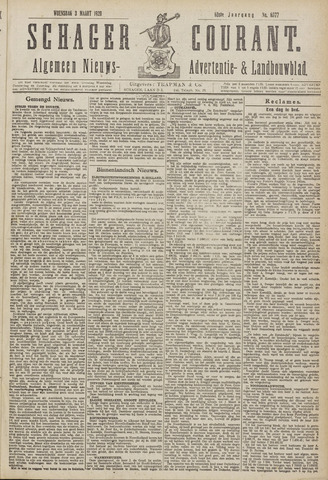 Schager Courant 1920-03-03