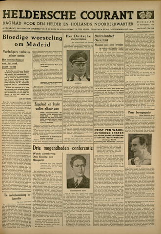 Heldersche Courant 1936-11-10