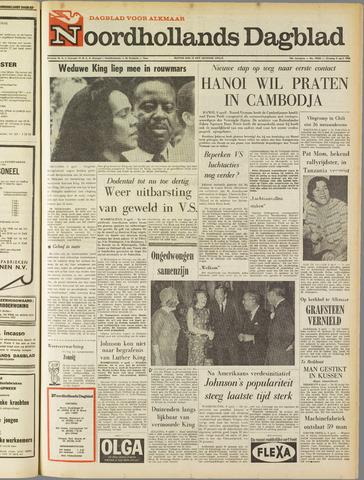 Noordhollands Dagblad : dagblad voor Alkmaar en omgeving 1968-04-09