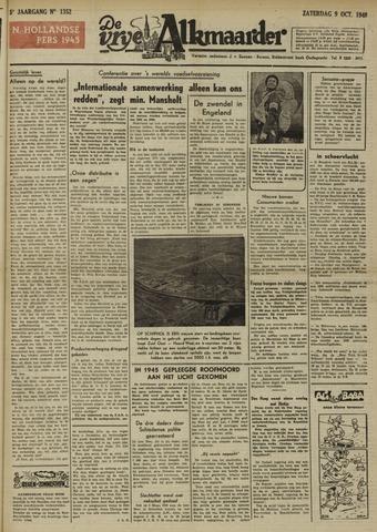 De Vrije Alkmaarder 1948-10-09