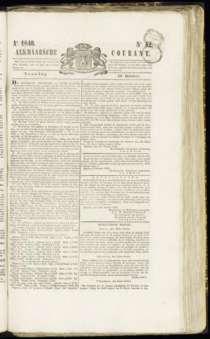 Alkmaarsche Courant 1840-10-19