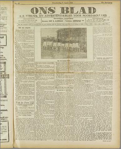 Ons Blad : katholiek nieuwsblad voor N-H 1920-04-08