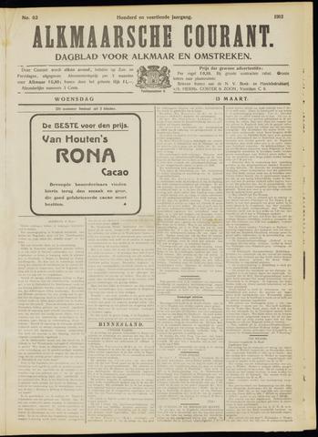 Alkmaarsche Courant 1912-03-13