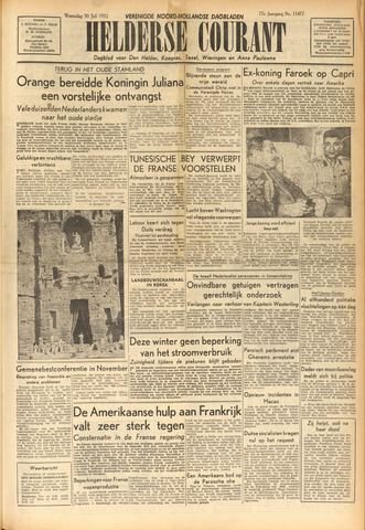Heldersche Courant 1952-07-30