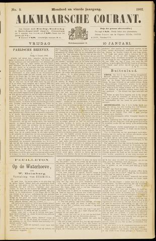 Alkmaarsche Courant 1902-01-10