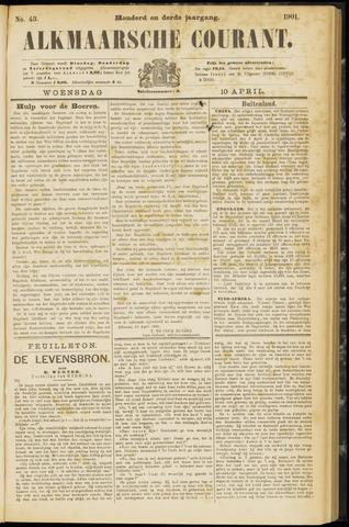 Alkmaarsche Courant 1901-04-10