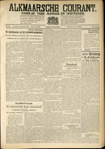 Alkmaarsche Courant 1934-07-13