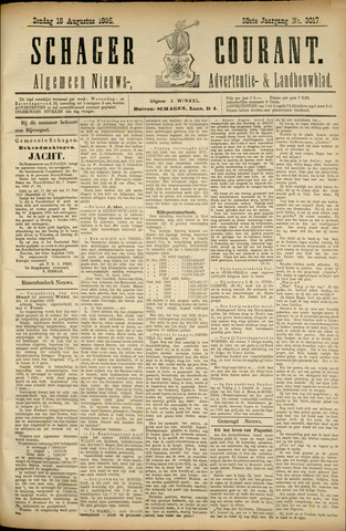 Schager Courant 1895-08-18