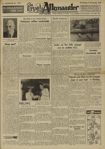 De Vrije Alkmaarder 1949-12-08
