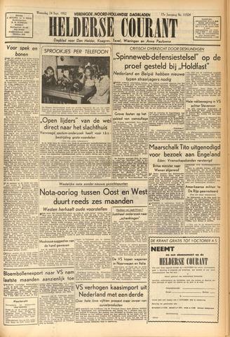 Heldersche Courant 1952-09-24