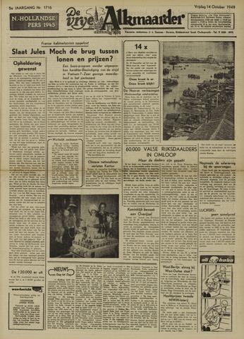 De Vrije Alkmaarder 1949-10-14