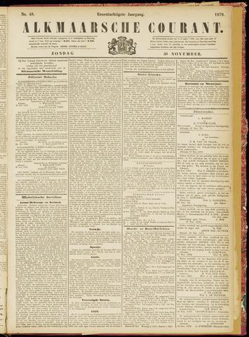 Alkmaarsche Courant 1879-11-30