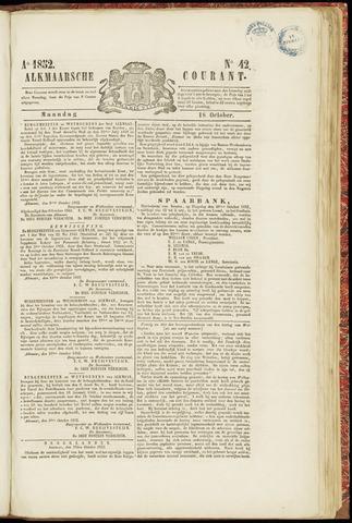 Alkmaarsche Courant 1852-10-18
