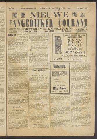 Nieuwe Langedijker Courant 1933-02-18